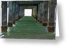 Under Clearwater Pier 60 Greeting Card
