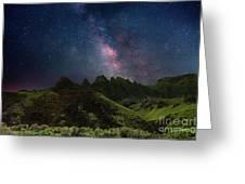 Under Kalalau Greeting Card