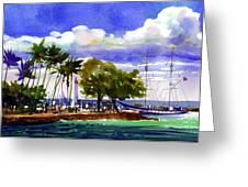 Under Maui Skies Greeting Card