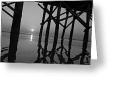 Under The Boardwalk Bw1 Greeting Card