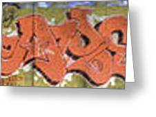 Under The Bridge Graffiti 4 Greeting Card