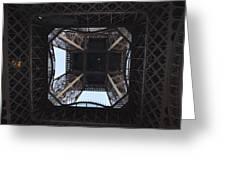 Under The Eiffel Greeting Card