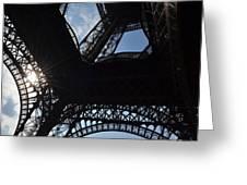 Under The Eiffel II Greeting Card