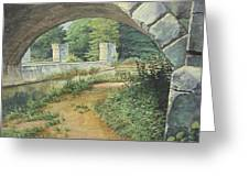 Under The Erie Canal Greeting Card
