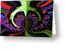 Under The Microscope Greeting Card