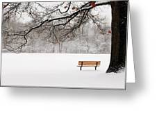 Under The Oak Greeting Card