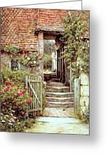 Under The Old Malthouse Hambledon Surrey Greeting Card