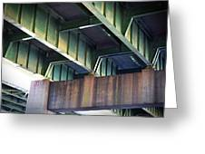 Under The Overpass Greeting Card