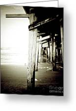 Under The Pier Extreme Greeting Card