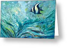 Under The Sea 9 Greeting Card