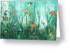 under the sea I Greeting Card