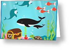 Under The Sea-jp2988 Greeting Card