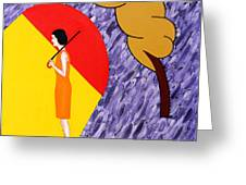 Under The Shelter Of Your Love Greeting Card