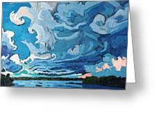 Under The Storm Greeting Card