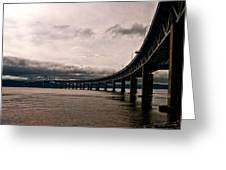 Under The Tappan Zee Greeting Card