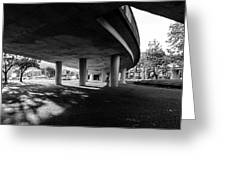 Under The Viaduct C Urban View Greeting Card
