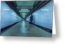 Underground Inhabitants Greeting Card