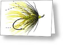 Undertaker Chartreuse Greeting Card