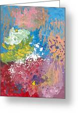 Underwater Abstract Greeting Card by Helene Henderson