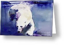 Underwater Bear Greeting Card