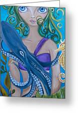 Underwater Mermaid Greeting Card
