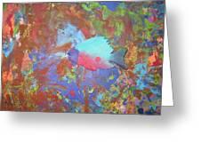 Underwater Periscope Greeting Card