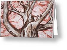 Undulating Tree Greeting Card