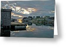 Unesco World Heritage Site - Peggy's Cove - Nova Scotia Greeting Card