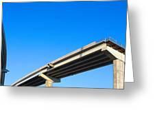 Unfinished Freeway Ramp Greeting Card