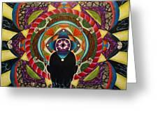 Unfolding Spirit Greeting Card