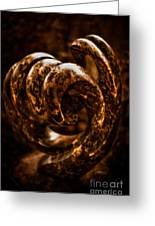 Unfurling Greeting Card