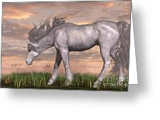 Unicorn And Chipmunk Greeting Card