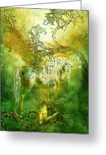 Unicorn Of The Forest  Greeting Card