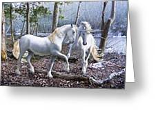 Unicorn Reunion Greeting Card