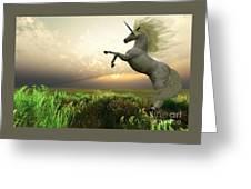 Unicorn Stag Greeting Card