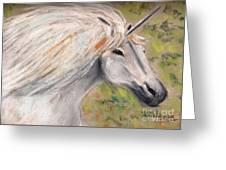 Unicornio Greeting Card