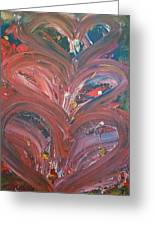 Unintended Abstract  Greeting Card