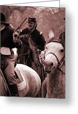 Union Cavalry Greeting Card