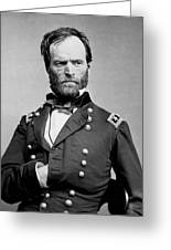 Union General William Tecumseh Sherman 1865 Greeting Card