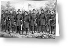 Union Generals Of The Civil War  Greeting Card