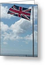 Union Jack Off Land's End Greeting Card