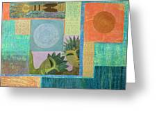 Union Of The Sun And Moon Greeting Card