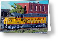 Union Pacific 289 Greeting Card