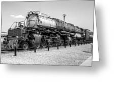 Union Pacific 4012 Greeting Card