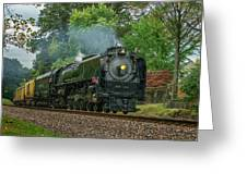 Union Pacific Engine 844 -- 7r2_dsc1956_16-10-18 Greeting Card