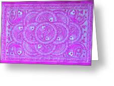 Union Purple Greeting Card