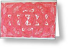 Union  Red Greeting Card