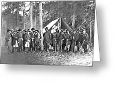 Union Soldiers Greeting Card