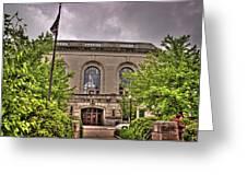 Union Station 1, Joliet, Illinois Greeting Card