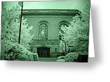 Union Station 2, Joliet, Illinois Greeting Card